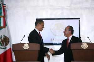 Calderón and Obama