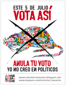 Nullify your vote