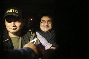 Duarte smiling
